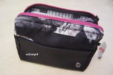Lululemon Mind Body Kit Toiletry Bag Rose Neutral Blush Black Grape Swan