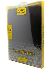 New OtterBox Symmetry Folio Series Case For iPad Air 2 Black Night Faux Leather