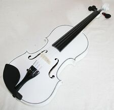 blancos 4/4 Violín / violín & Maleta, Cinturón y Arco