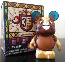"""DISNEY VINYLMATION 3"""" BEAUTY AND THE BEAST MAURICE BELLE DAD'S HORSE PHILLIPE"""