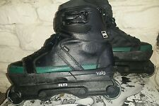 Valo VxS The strange aggressive inline skates.Size UK 6 with FLT3 frames.not usd