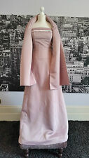 Linzi Jay dress + Shawl (Pink) Ball, Prom, Bridesmaid, Mother of Bride, RRP £185