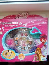 Jewelry set for girls Winx Club.do-it-yourself. Your child will love it!!!