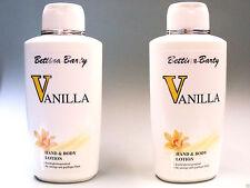Bettina Barty  Vanilla   Hand & Body Lotion  (2 x 500 ml)