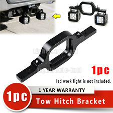 Tow Hitch Mounting Bracket For 18W LED Backup Reverse Work Lights Off Road Truck
