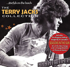 "TERRY JACKS Starfish On The Beach ""Best of""  2 CD Seasons in the Sun AUTOGRAPHED"