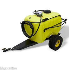 John Deere 45 Gallon Tow-Behind Sprayer 100psi for Lawn & Garden Tractors