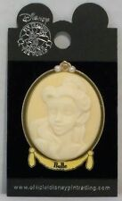 Disney Princess Porcelain Cameo Series Belle From Beauty & The Beast 3-D Pin HTF