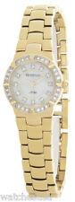 Armitron Now Womens MOP Dial Gold Tone Stainless Steel Bracelet Watch 75/3913GP