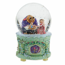 Disney Belle Beauty and the Beast Doll Musical SnowGlobe New!
