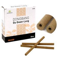 DongBang Long Pipe Moxa Gu Gwan Long Moxa Moxibustion, x 80 pcs/box