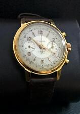 CHRONOGRAPHE SUISSE LANDERON 51 GP 50th VINTAGE RARE 17J SWISS WATCH.