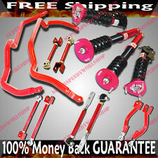 Fits 240SX S14 Toe Arm+Traction Rods+Camber kits+ 16 Damper Coilover+Sway Bar