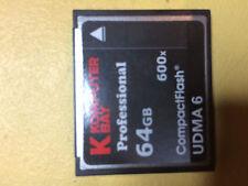 Carte Compact flash 64 Go
