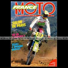 FRANCE MOTO N°264 HUSQVARNA 125 XC YAMAHA 200 WR HONDA 250 XR KAWASAKI 125 KDX