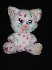 Build a Bear Buddies Plush Christmas Cookie Kitty Cat Sprinkles 8""