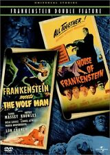 Frankenstein Meets the Wolf Man/House of Frankenstein (DVD Used Very Good) BW