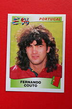 Panini EURO 96 N. 299 PORTUGAL COUTO New With BLACK back TOPMINT!!