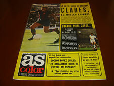 REVISTA AS COLOR N.289 ANO 1976,  POSTER U.D.SALAMANCA + SUPLEMENTO REAL MADRID