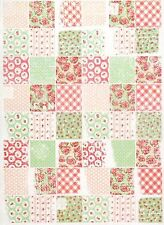 Rice Paper for Decoupage Decopatch Scrapbook Craft Sheet Shabby Chic Patchwork