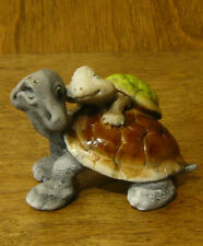 Top Collection Enchanted Story Fairy Garden #4070 TORTOISE with BABY