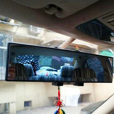 Universal 300mm Panoramic Curve Convex Interior Clip On Rear View Mirror