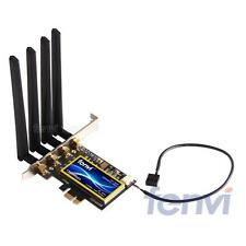 802.11AC Desktop Wifi Wlan Card Bluetooth 4.0 OS X Yosemite 10.10+ PC/Hackintosh