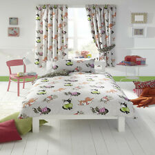 Cute Dog, Puppy Single Bedding with Matching Curtains 72s