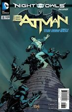 BATMAN #8 NIGHT OF OF OWLS DC NEW 52