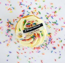 NEW Chapstick Lip Balm - Cake Batter - USA Made Limited Edition Flavour Cupcake