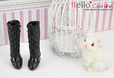 ☆╮Cool Cat╭☆【07-02】Blythe Pullip  High Heel Boots.Black