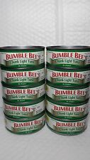 BUMBLE BEE CHUNK LIGHT TUNA IN WATER (PACK OF 10 CANS) NET WT 5 OZ EACH 03/17