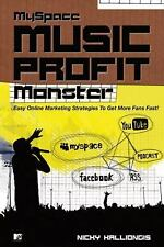 Myspace Music Profit Monster: Easy Online Marketing Strategies to Get-ExLibrary