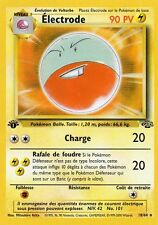 ELECTRODE 90PV 18/64 EDITION 1 CARTE POKEMON