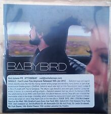 Babybird - Can't Love You Any More Promo CD Single (CD)