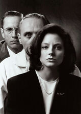 Silence of the Lambs Cast BW POSTER