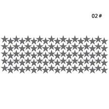 10/20/90pcs Little Star Decal Art Mural Wall Sticker Baby Kids Girl Room Decor