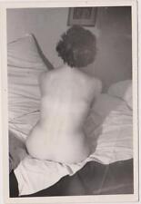 AKTFOTO NUDE AKT Originalfoto. Vintage 60er Jahre. Schöner Rückenakt.
