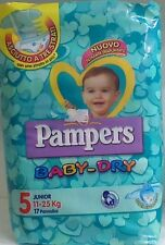 PAMPERS Baby-Dry 5°Mis. 11-25 kg 24 conf. 408 pannolini