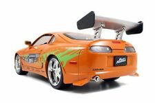 TOP SELLER 1/18 Brian's Toyota Supra Fast & Furious Orange Diecast Jada # 97505