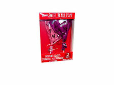 Sweet Heart Pops Chocolate Covered Strawberry Marshmallow Set of 2 #391815