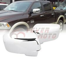 Car Chrome Side Mirror Cover w/Turn Signal For Dodge Ram 1500/2500/3500 09-12 FM