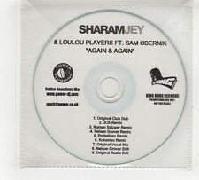 (GV472) Sharam Jey & Loulou Players ft Sam Obernik, Again & Again - DJ CD