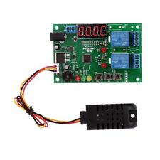 Digital Temp Humidity Controller Board Module Relay Thermostat DC 5~24V US A5K6