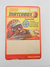 "MATCHBOX MEGA RARE ""Artists PROOF pre produzione BLISTER"" PILOTA DI FORMULA ART"