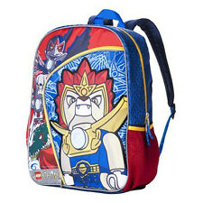 "NEW 2013 LEGO Legend of Chima Laval Lion 16"" Blue Bag School Classic Backpack"