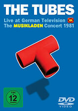 THE TUBES New Sealed 2016 UNRELEASED 1981 GERMANY CONCERT DVD