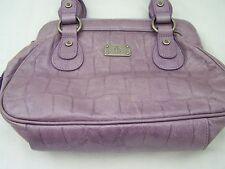 Bolso pequeño en Diseño Lila Imitación Cocodrilo un montón de bolsillos dentro de