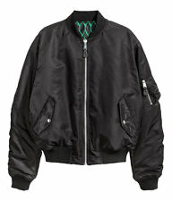 Kenzo x H&M Men's Reversible Bomber Jacket Black / Green Yeezy Style Size S