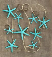 Starfish Garland 9FT Coastal Decor, Nautical Decor, Beach Wedding, Christmas